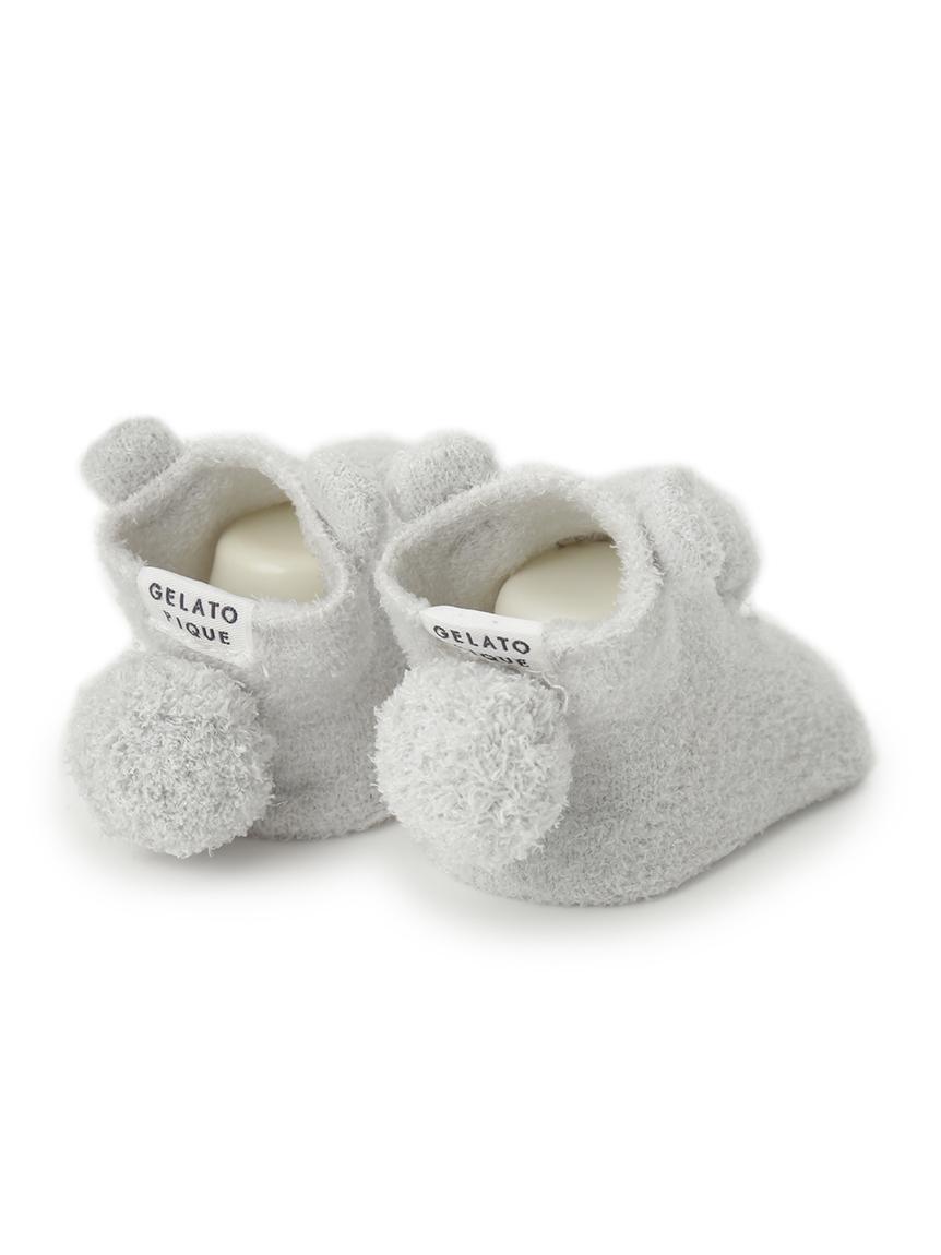 【BABY】 'リサイクル'スムーズィー'くま baby ソックス | PBGS214720