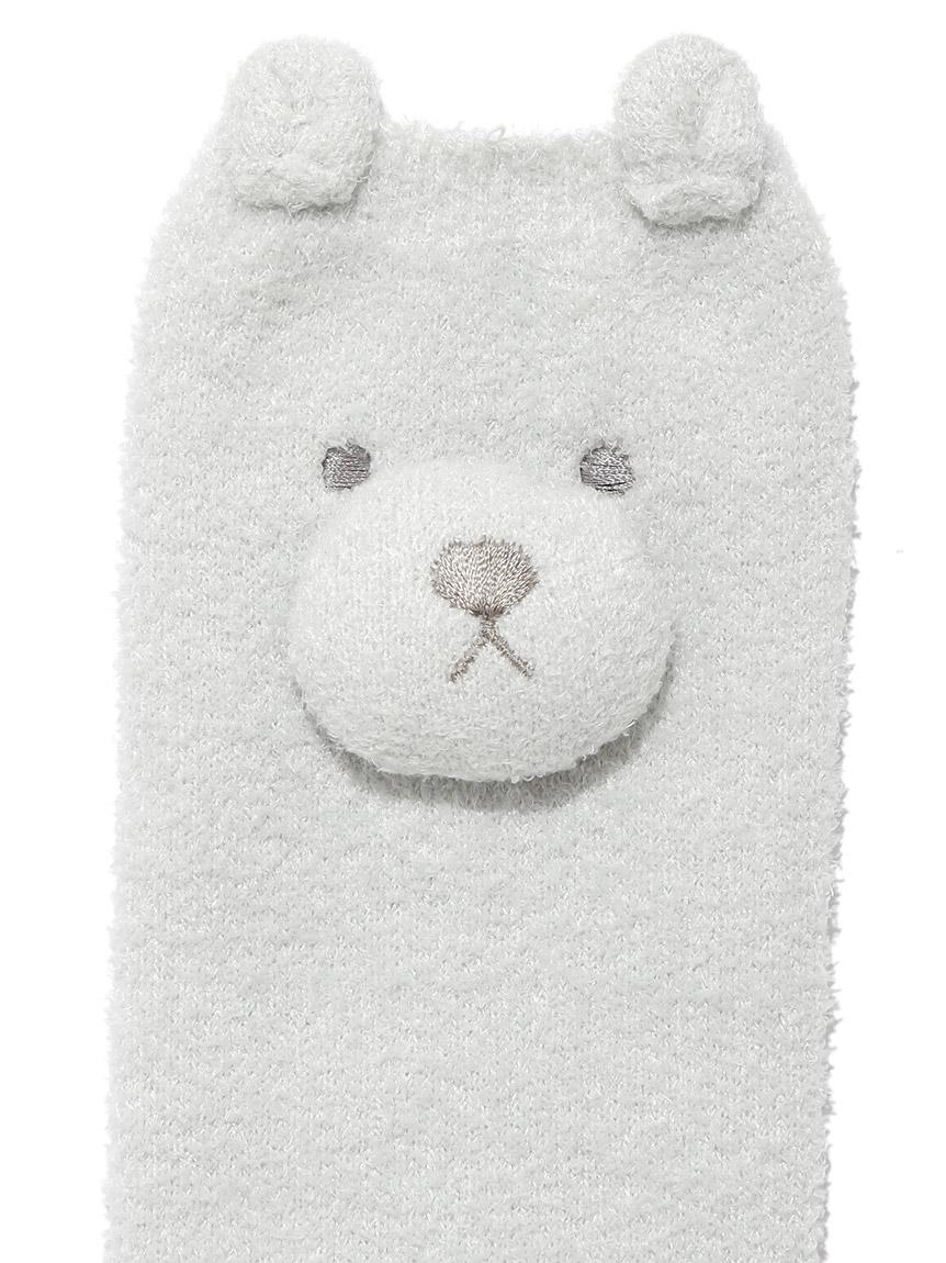 【BABY】 'リサイクル'スムーズィー'くま baby レッグウォーマー | PBGS214721