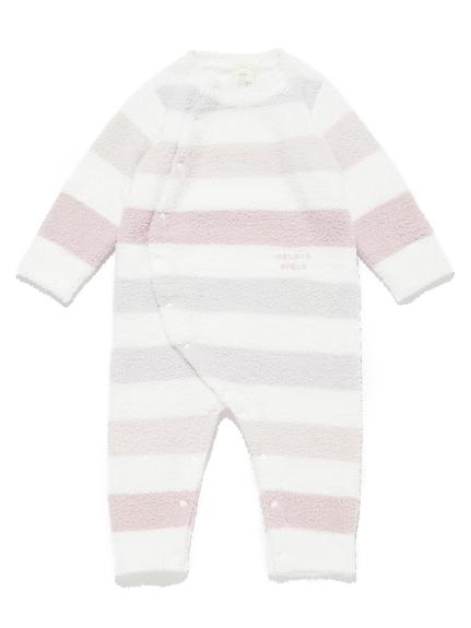 【BABY】'ベビモコ'5ボーダー baby ロンパース | PBNO211442