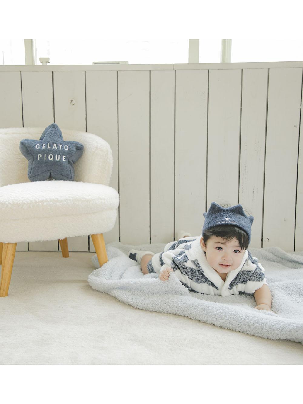【BABY】'スムーズィー'メランジ2ボーダー baby ショートパンツ | PBNP212441
