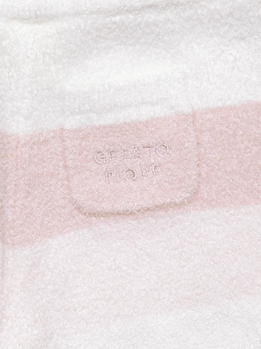 【BABY】 リサイクル'スムーズィー'3ボーダー baby ショートパンツ | PBNP214441