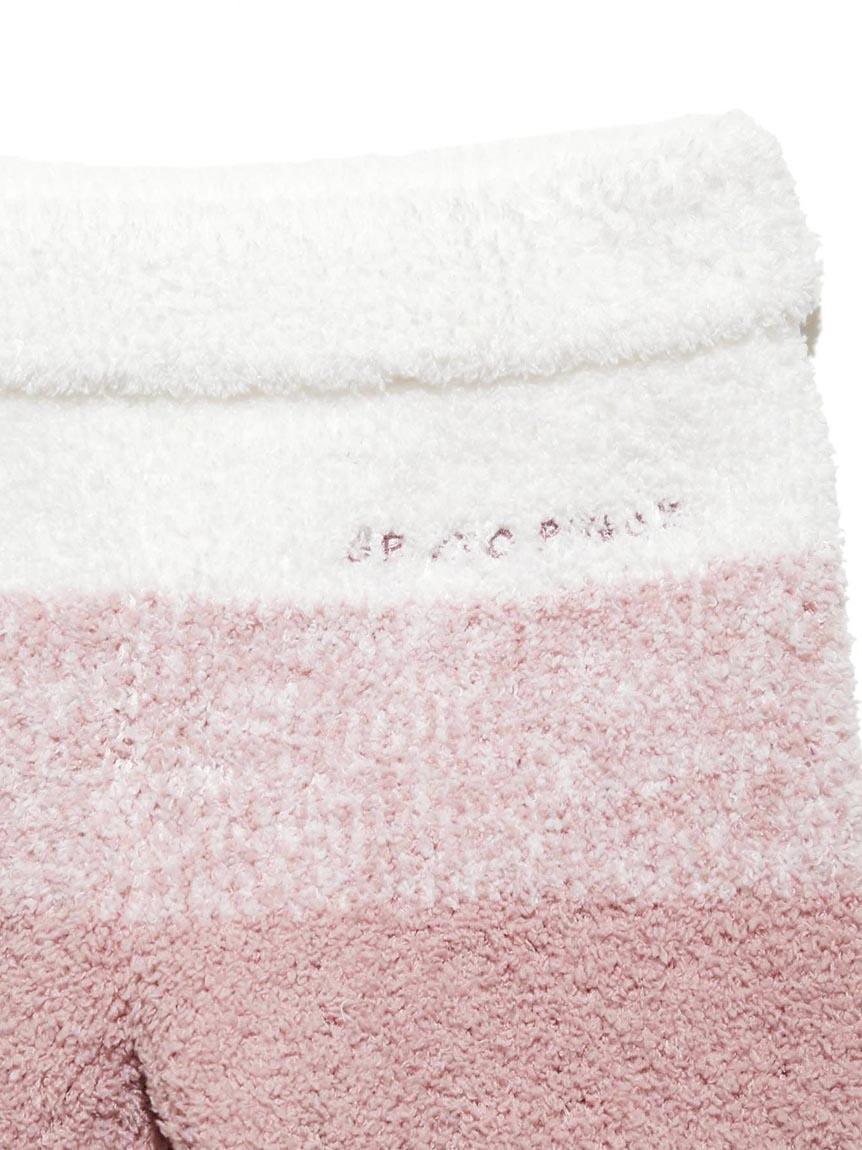 【BABY】 'ベビモコ'メランジボーダー baby ロングパンツ | PBNP214444