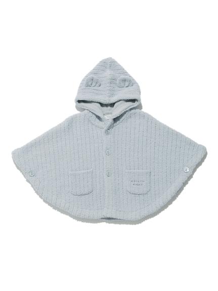 【BABY】'マシュマロモコ'リブ baby ポンチョ | PBNT211447
