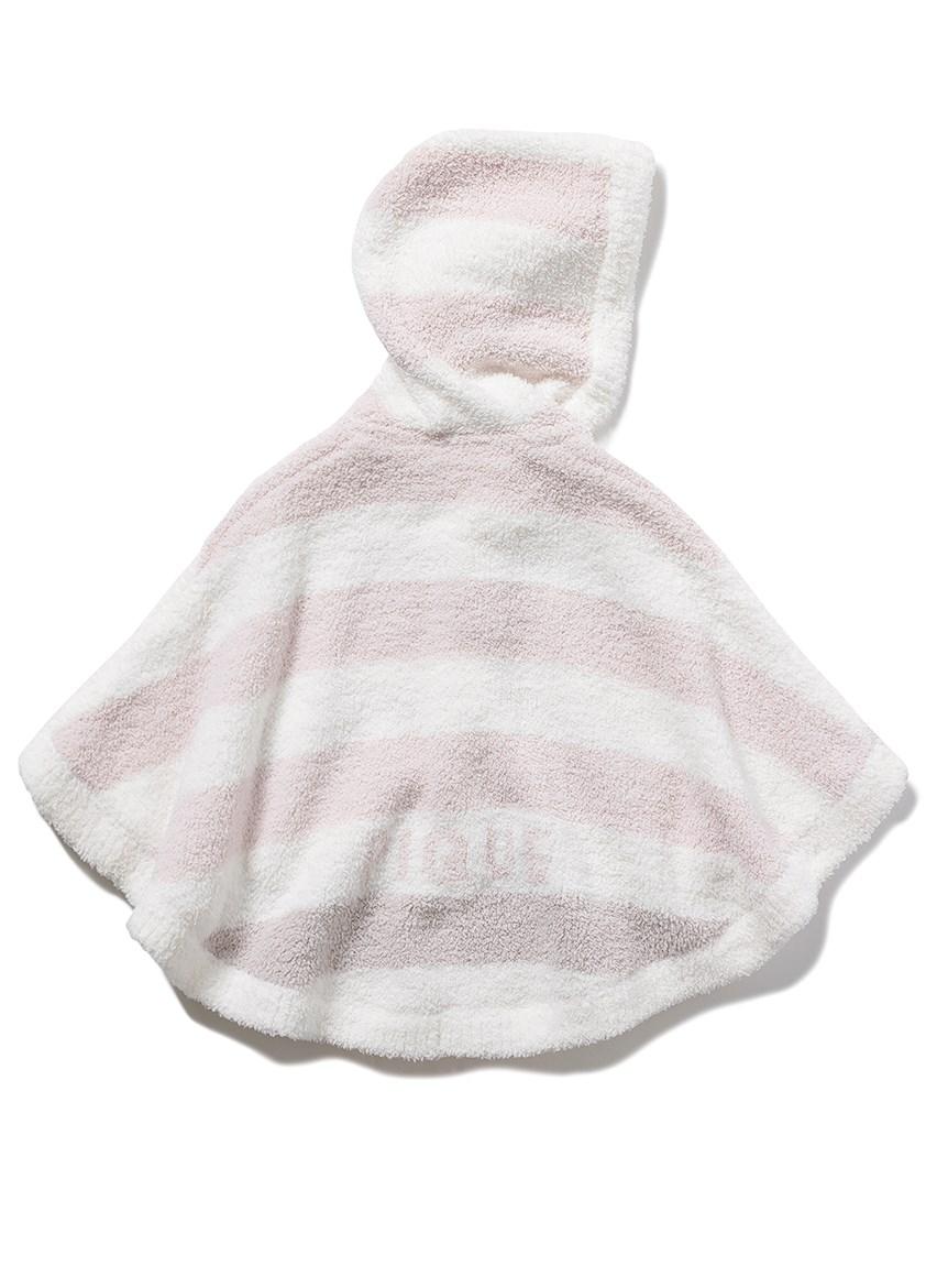 【BABY】パウダートリムボーダー baby ポンチョ   PBNT215441