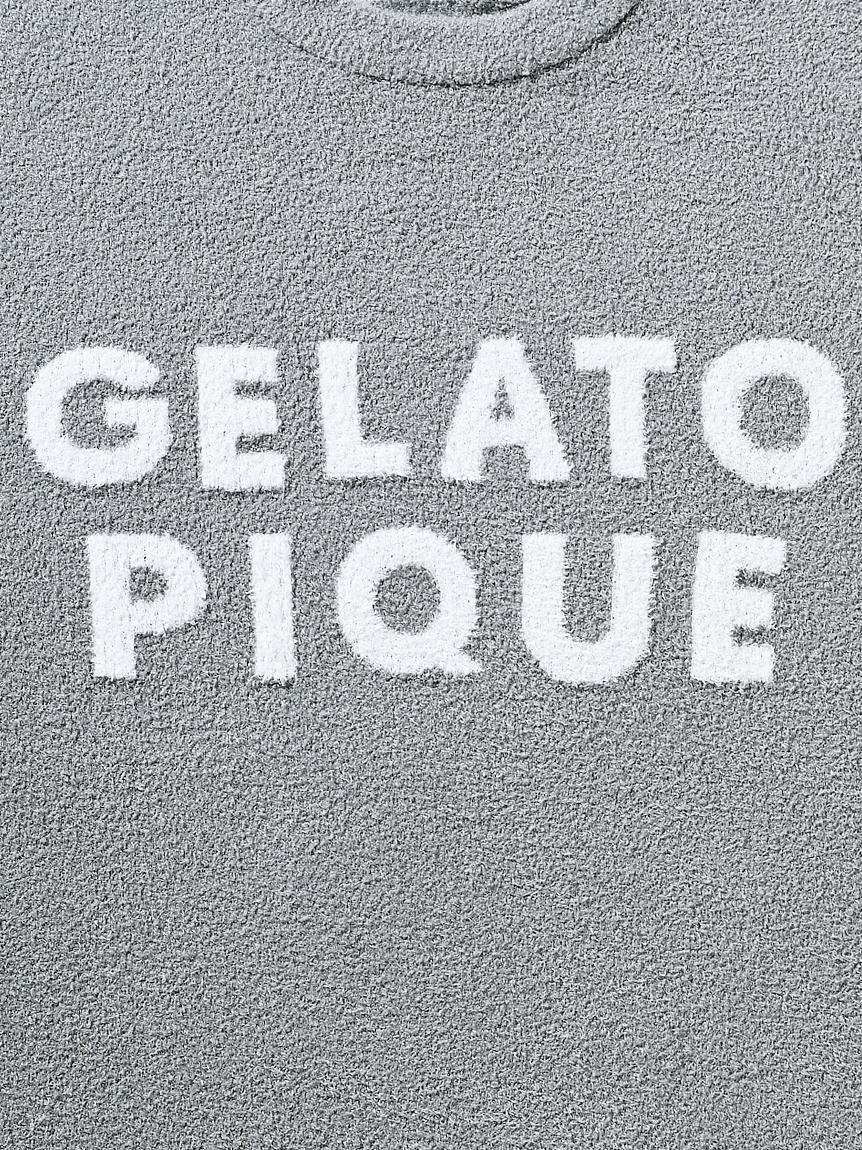 【GELATO PIQUE HOMME】【ONLINE限定】スムーズィージャガードプルオーバー&ハーフパンツセット | PHNT214182