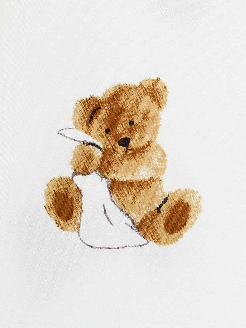 【オフィシャルオンラインストア限定】【junior】ベア柄抗菌防臭ドレス | PJCO211492