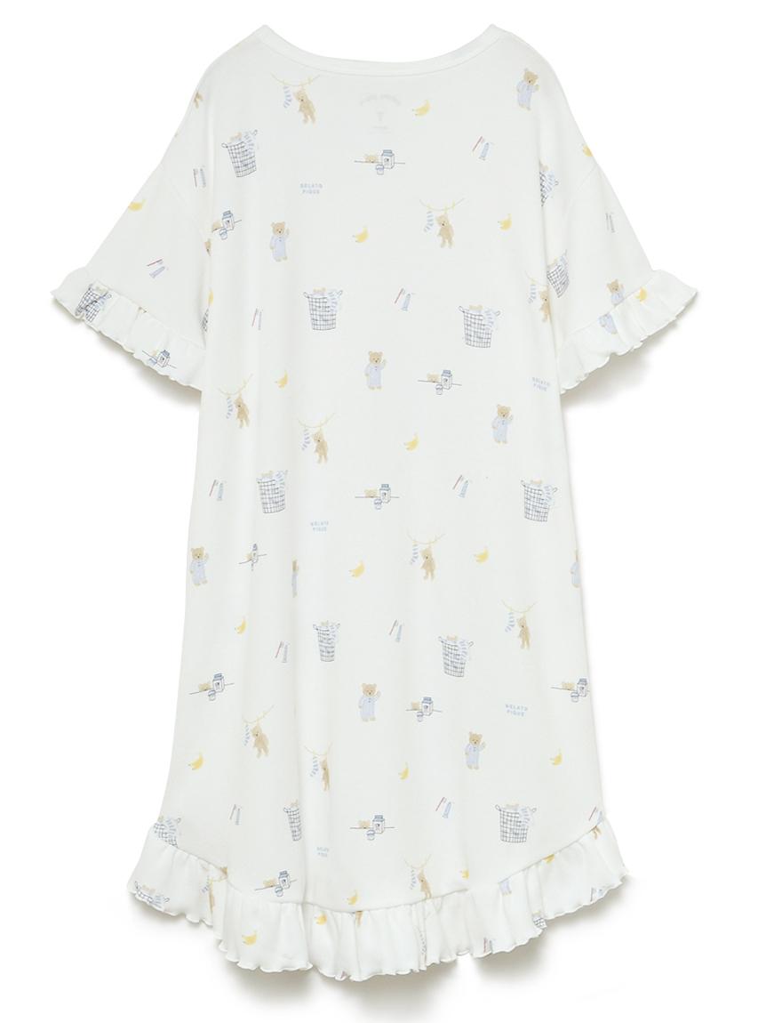 【オフィシャルオンラインストア限定】【junior】モーニングベア柄ドレス | PJCO211497