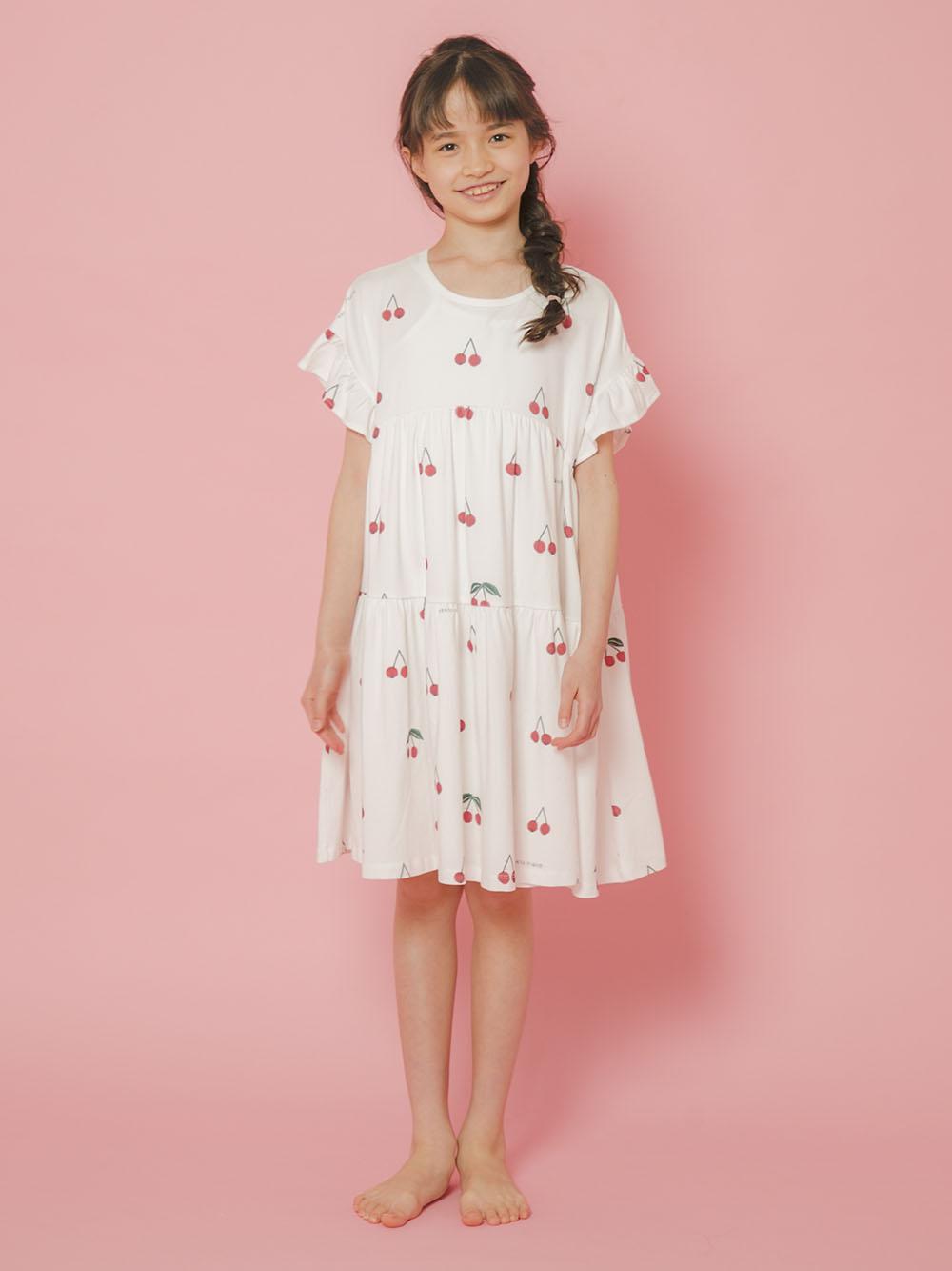 【オフィシャルオンラインストア限定】【junior】チェリー柄ドレス   PJCO212493