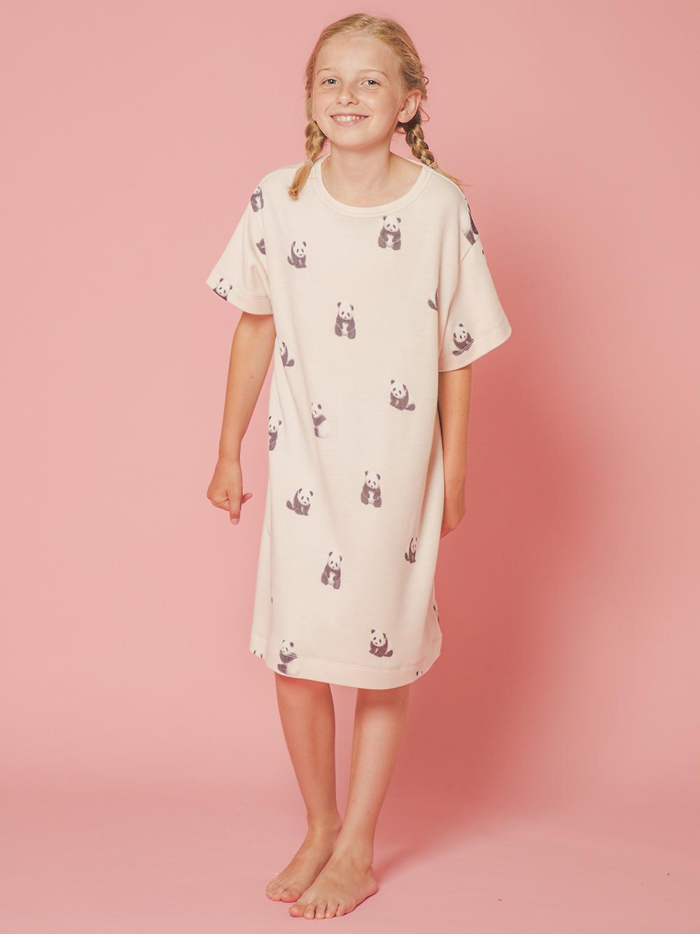 【JUNIOR】 【ONLINE限定】パンダモチーフ junior ドレス | PJCO214488