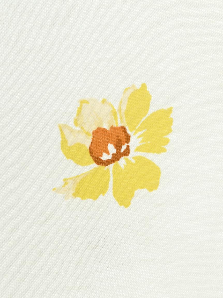 【オフィシャルオンラインストア限定】【junior】ペイントフラワープルオーバー&ロングパンツ   PJCT211480