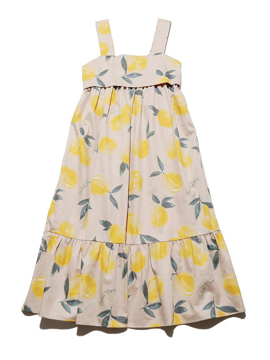 【オフィシャルオンラインストア限定】【junior】フルーツアロハ柄ドレス   PJFO212488