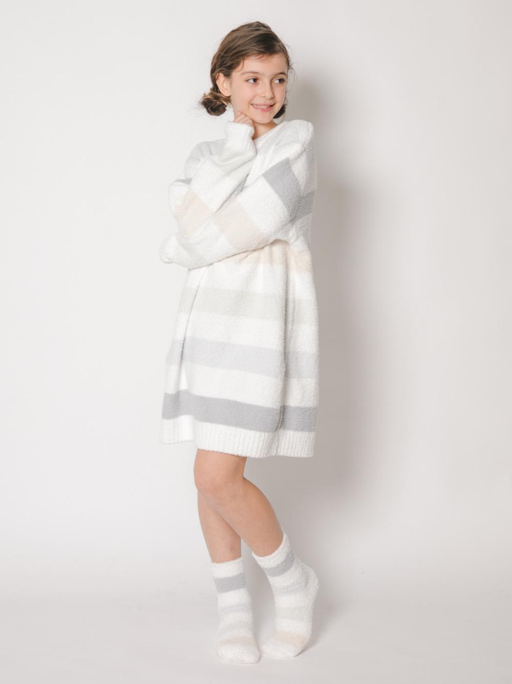 【オフィシャルオンラインストア限定】【junior】ベビモコ5ボーダージュニアドレス   PJNO211479