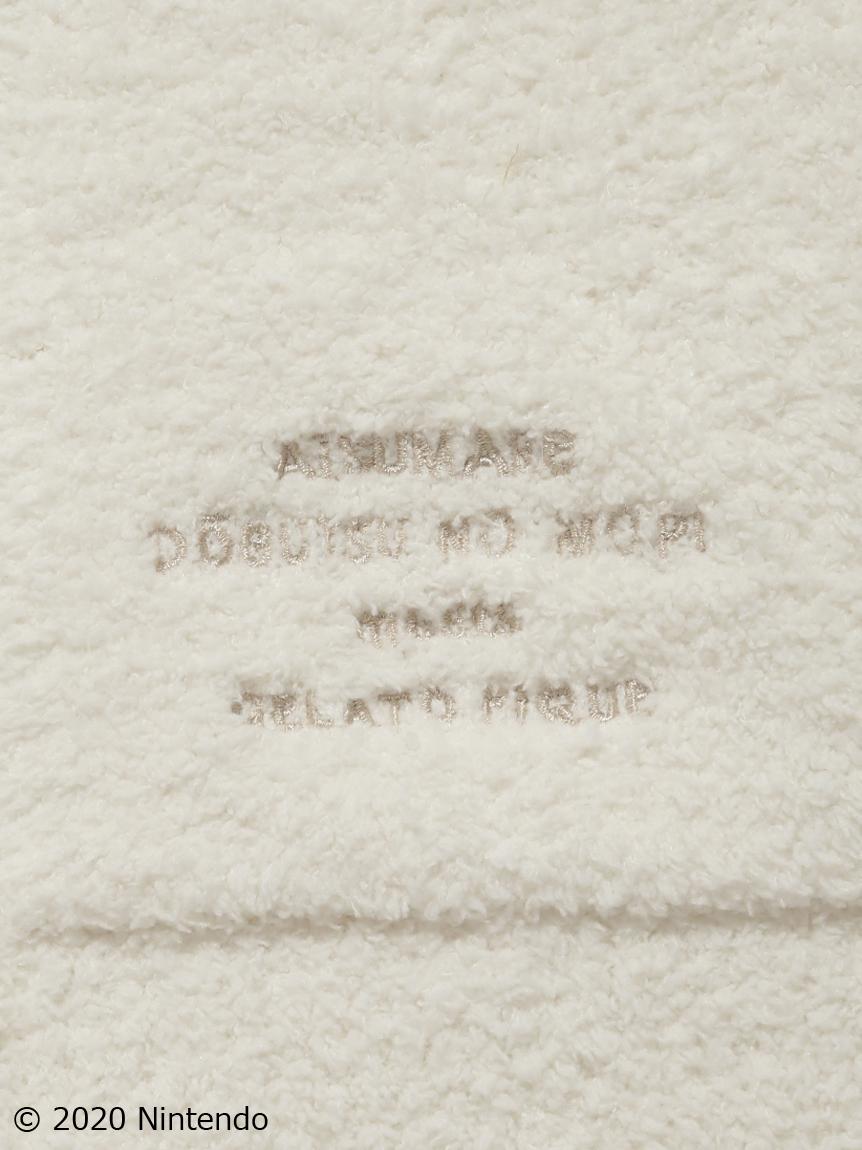 【オフィシャルオンラインストア限定】【あつまれ どうぶつの森】キャラクター柄 junior パーカ・ショートパンツSET クリーム | PJNT205835