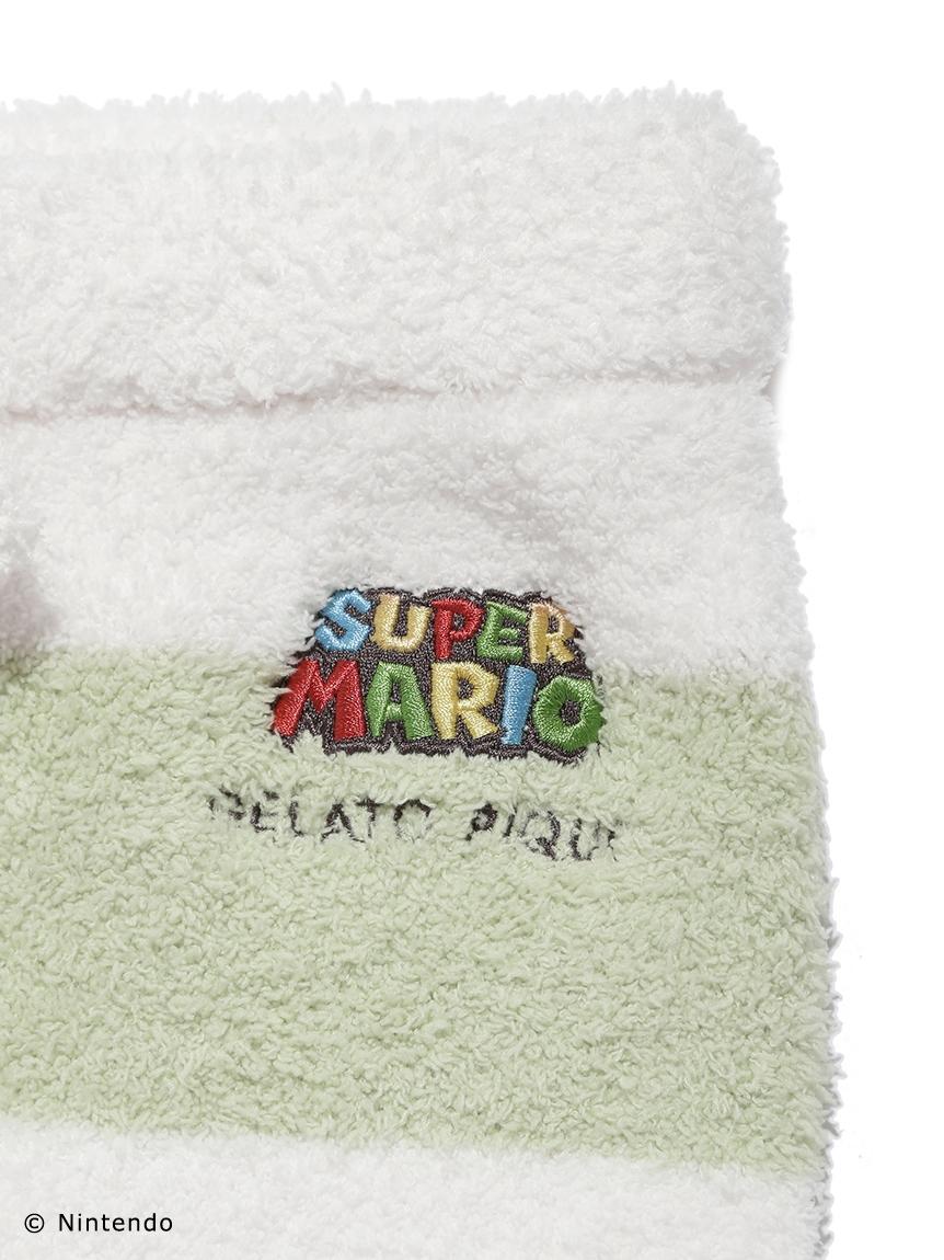 【スーパーマリオ】 【ジュニア】 【ONLINE限定】 ジャガードセットアップ | PJNT214496