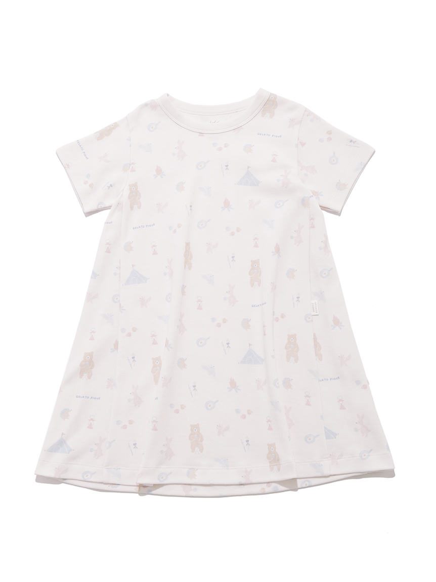 【KIDS】 アニマルキャンプモチーフ kids ドレス | PKCO214417