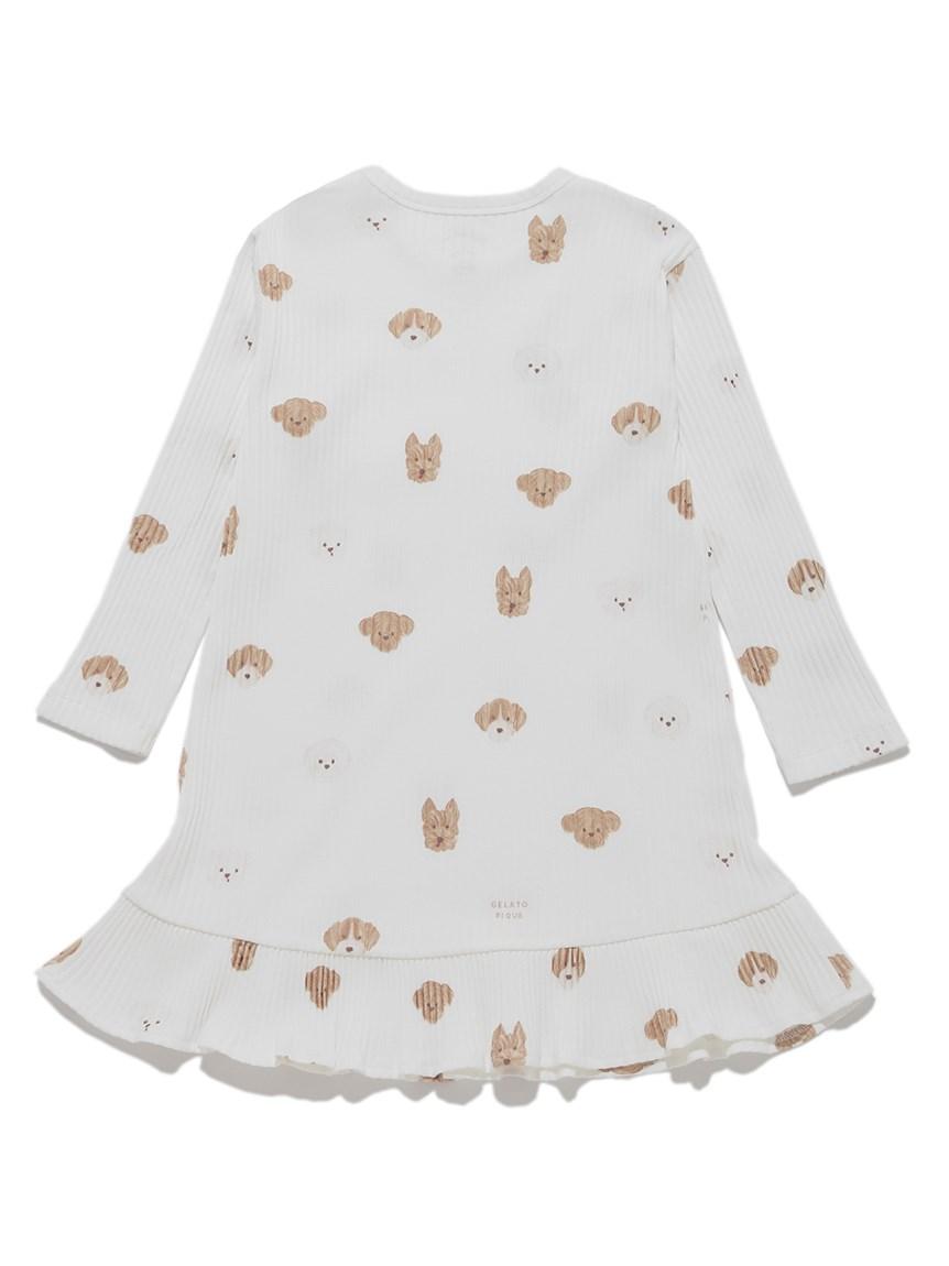 【KIDS】メレンゲドッグ柄 kids ドレス   PKCO215424