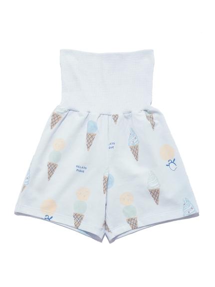 【KIDS】アイスクリームアニマルモチーフ kids ハーフパンツ   PKCP212417
