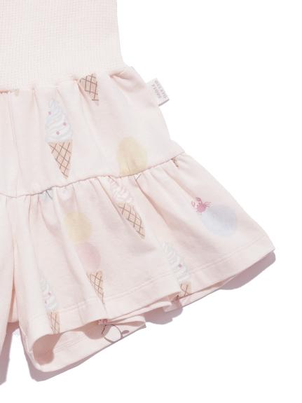 【KIDS】アイスクリームアニマルモチーフ kids ショートパンツ | PKCP212419