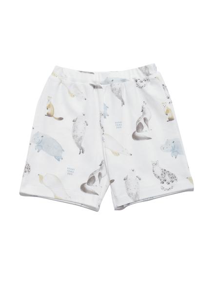 【KIDS】【旭山動物園】アニマルモチーフ kids ハーフパンツ | PKCP212426