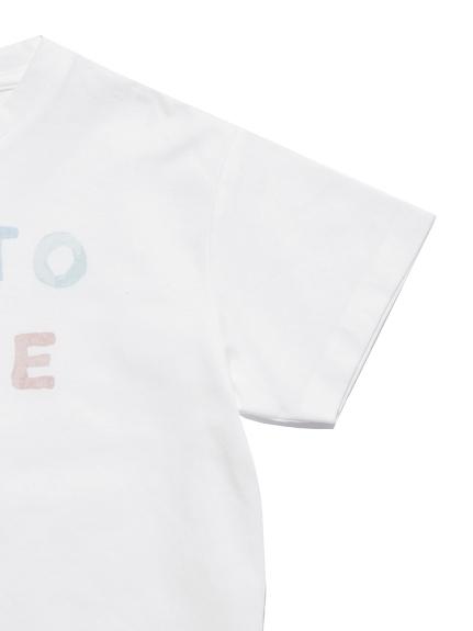 【KIDS】アイスクリームロゴワンポイント kids Tシャツ | PKCT212415