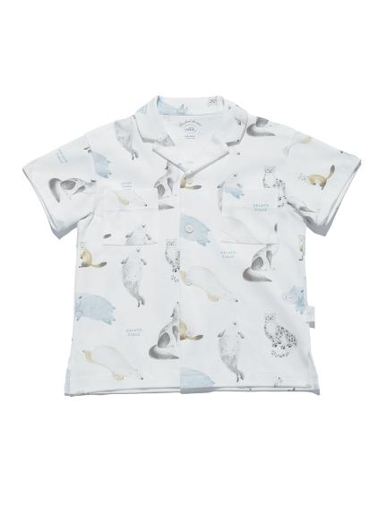 【KIDS】【旭山動物園】アニマルモチーフ kids シャツ | PKCT212425