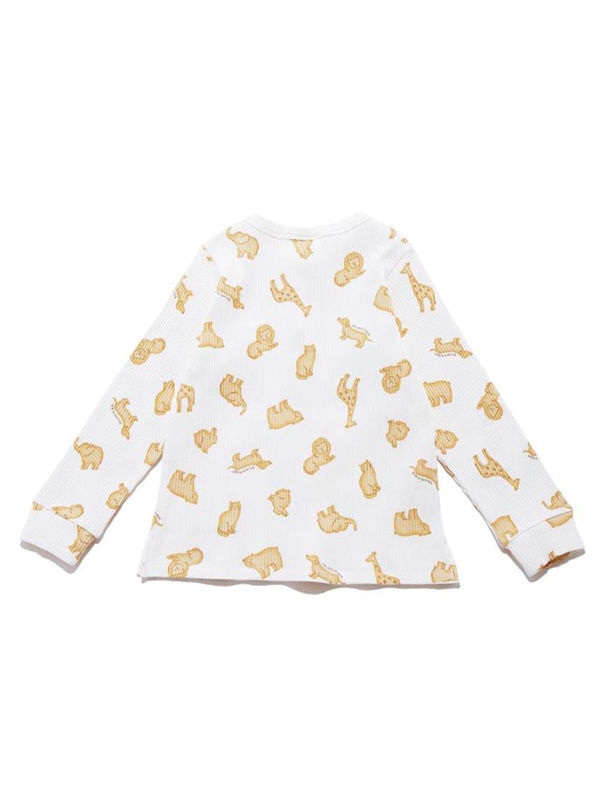 【KIDS】 クッキーアニマルモチーフ kids プルオーバー | PKCT214419