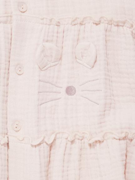 【KIDS】アニマルガーゼ kids ドレス   PKFO211422