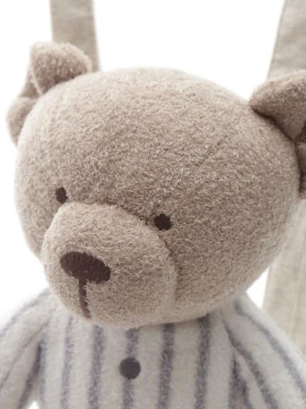 【KIDS】'スムーズィー'ボーダーベアモチーフ kids リュック | PKGB211726