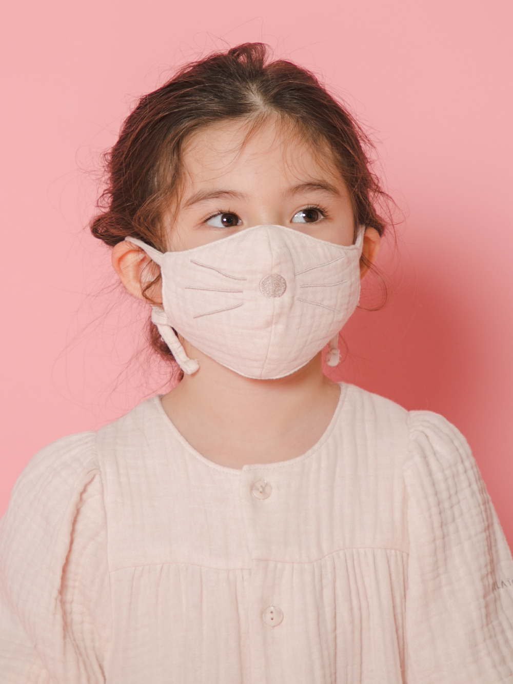 【KIDS】アニマルガーゼ kids マスク | PKGG211755