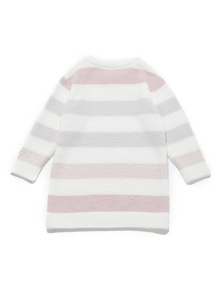 【KIDS】'ベビモコ'5ボーダー kids ドレス   PKNO211402