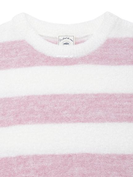 【KIDS】'スムーズィー'メランジ2ボーダー kids ドレス | PKNO212402