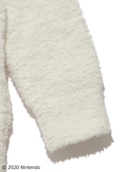 【あつまれ どうぶつの森】キャラクター柄kids パーカ・ショートパンツSET クリーム   PKNT205839