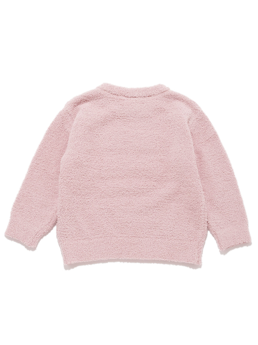 【KIDS】 ベビモコ'ロゴジャガード kids プルオーバー | PKNT214405