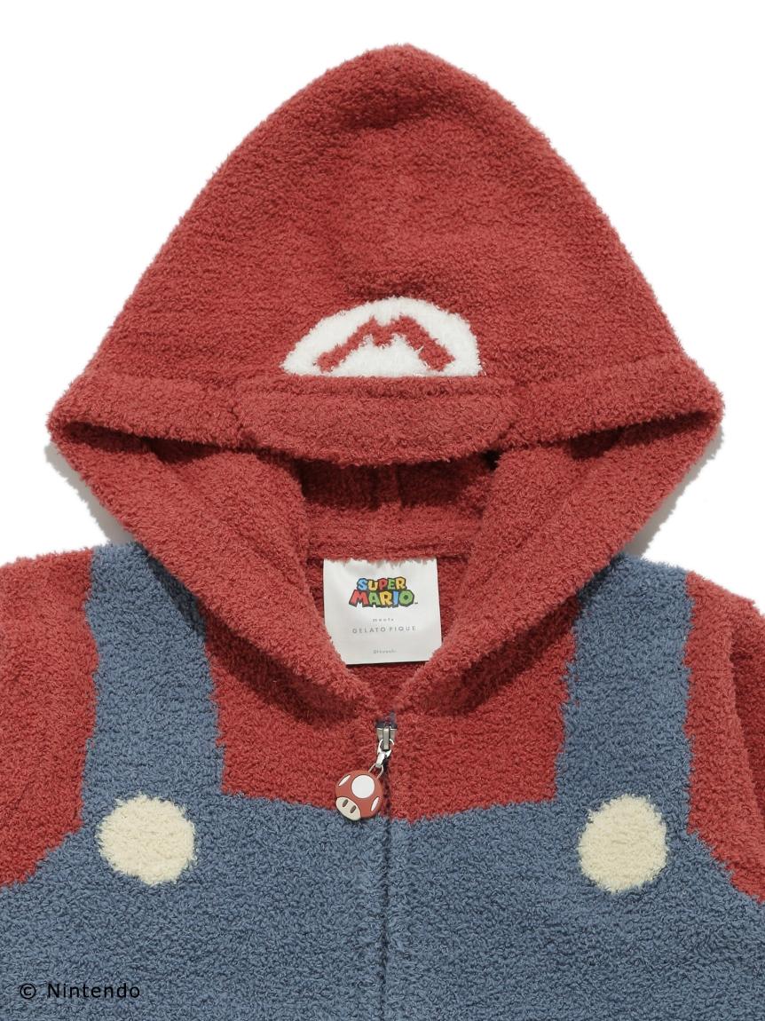 【スーパーマリオ】 【キッズ】 マリオ パーカ&ロングパンツ   PKNT214409