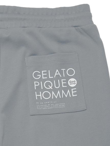 【GELATO PIQUE HOMME】 geo soap ワンポイントハーフパンツ | PMCP212913