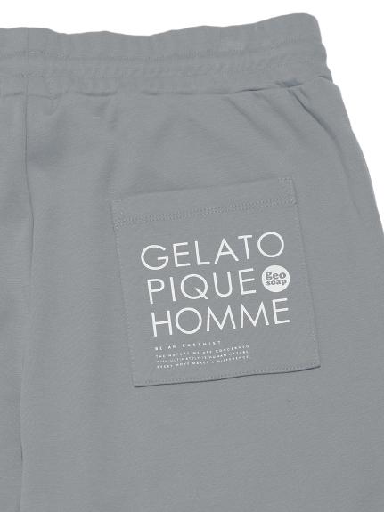【GELATO PIQUE HOMME】 geo soap  ワンポイントロングパンツ | PMCP212914