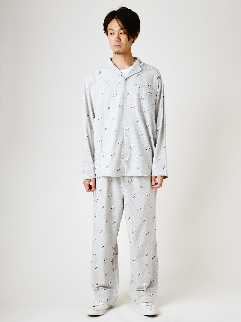 【PEANUTS】HOMME シャツ | PMCT205905