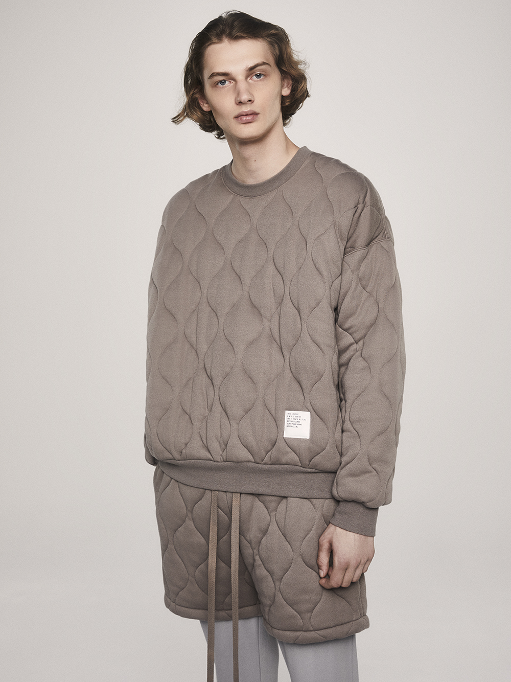 【MISTERGENTLEMAN×HOMME】QUILTED PULLOVER | PMCT205988