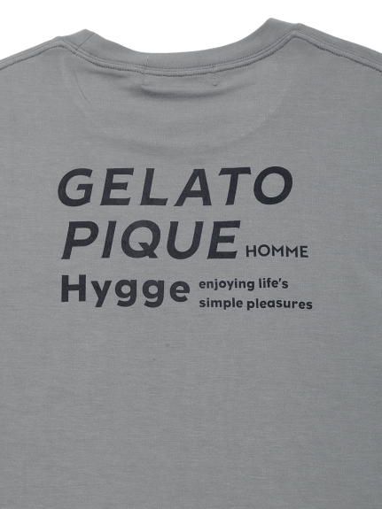 【GELATO PIQUE HOMME】リサイクルレーヨンロゴプルオーバー | PMCT211928