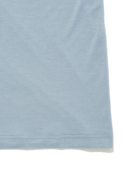 【GELATO PIQUE HOMME】レーヨンロゴTシャツ | PMCT211996