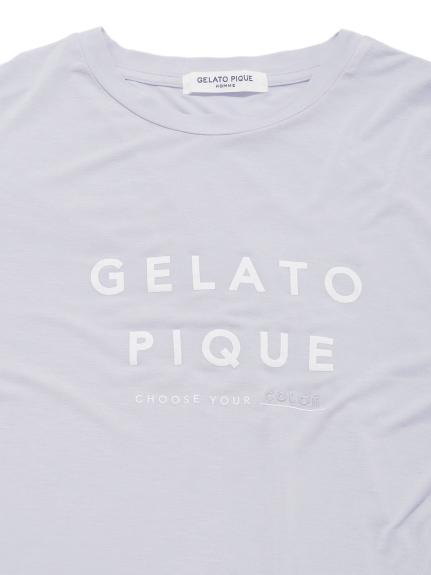 【GELATO PIQUE HOMME】モチーフワンポイントTシャツ | PMCT212812