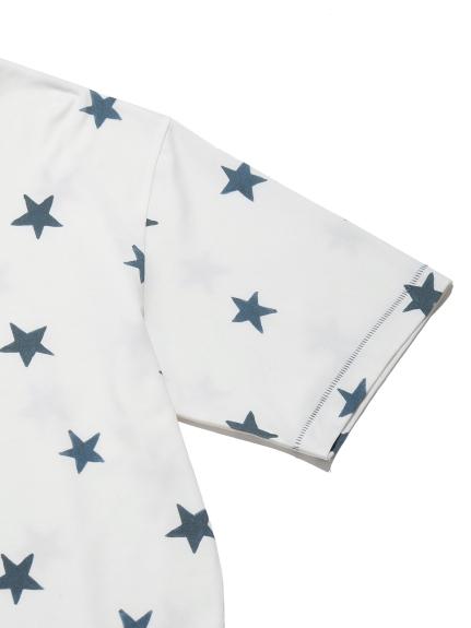 【GELATO PIQUE HOMME】スターモチーフTシャツ | PMCT212907