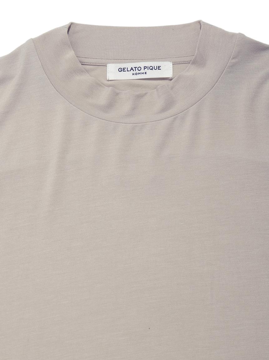 【GELATO PIQUE HOMME】レーヨンシルクTシャツ | PMCT212923