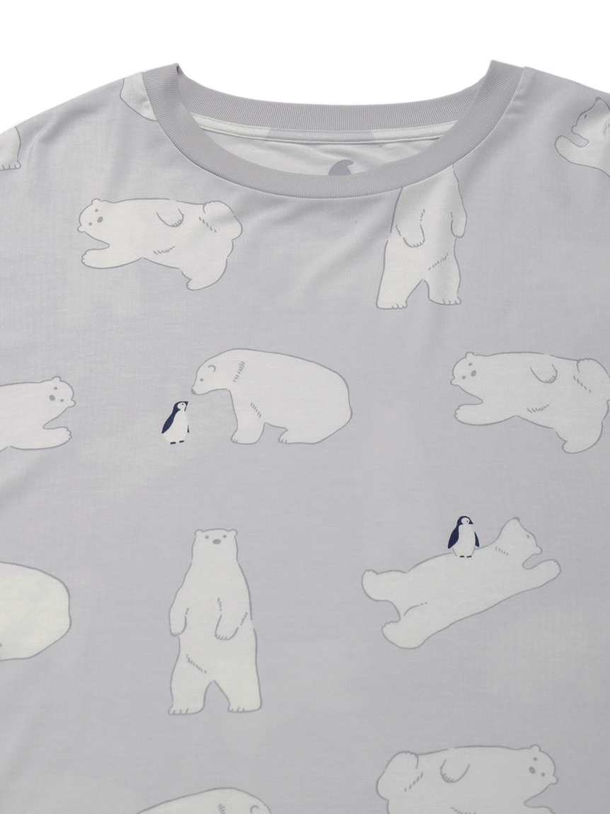 【COOL FAIR】 HOMME シロクマモチーフTシャツ | PMCT212928