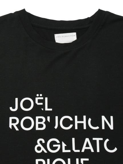 【Joel Robuchon & gelato pique】 HOMME テンセルシルクロゴTシャツ   PMCT212976