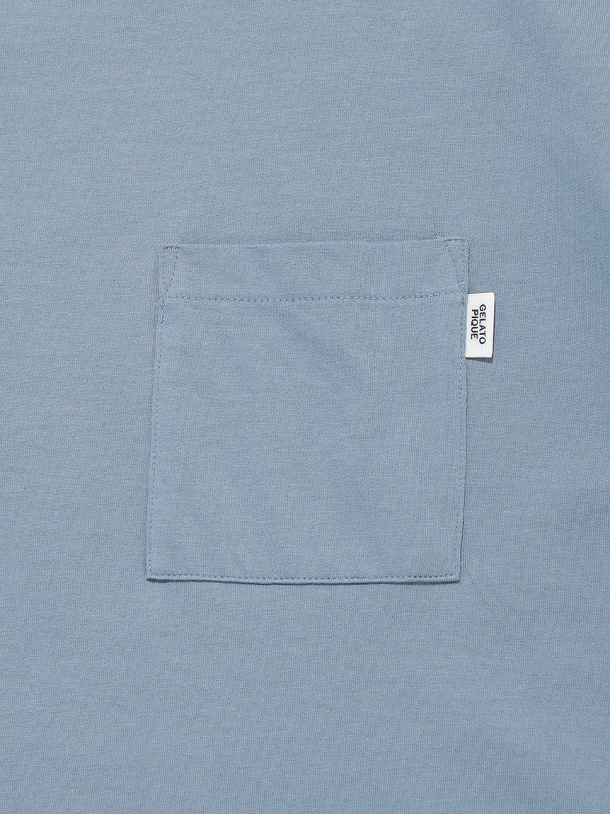 【GELATO PIQUE HOMME】 オーガニックコットンTシャツ | PMCT214906