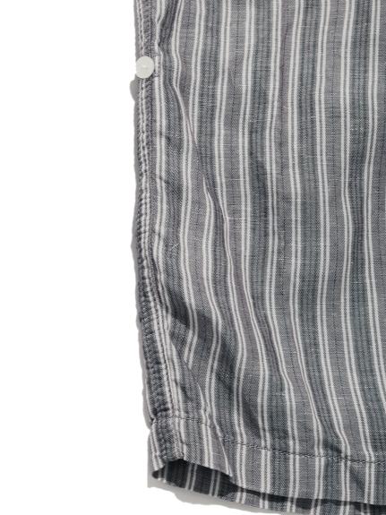 【GELATO PIQUE HOMME】リネンミックスストライプロングパンツ | PMFP211942