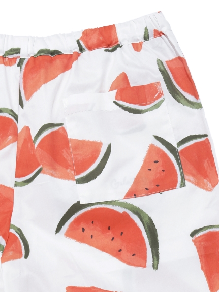 【GELATO PIQUE HOMME】フルーツアロハモチーフハーフパンツ | PMFP212955