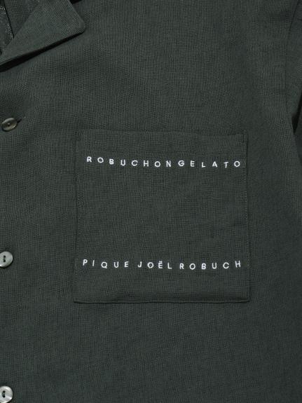 【Joel Robuchon & gelato pique】 HOMME ドライガーゼシャツ | PMFT212964