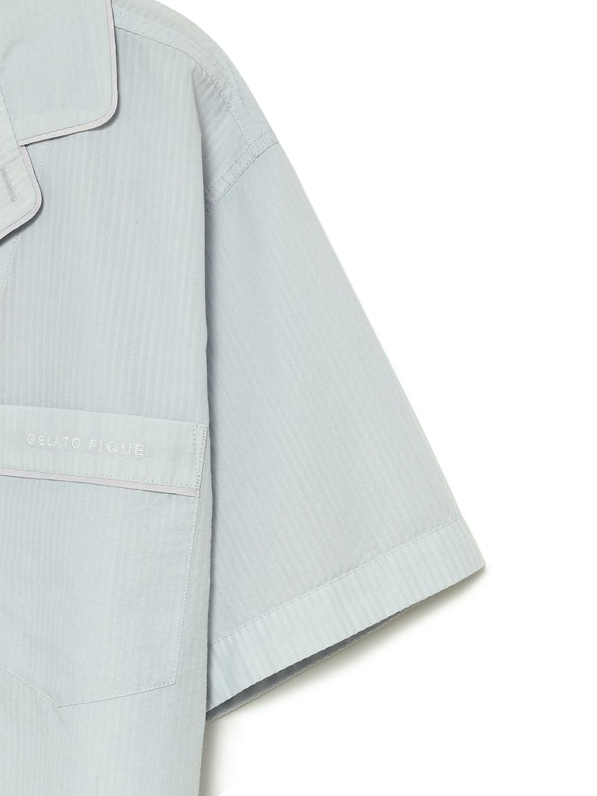 【ラッピング】【HOMME】クールMAXシャツ&ロングパンツSET | PMFT219186